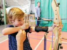 Cool Factor: Archery (indoor) Erperheide Peer Center Parcs