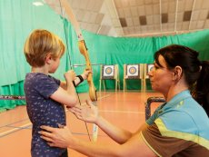 Archery (indoor) Het Meerdal America Center Parcs