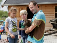 Animal care Parc Sandur Emmen Center Parcs