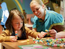 Familien-Workshops Parc Sandur Emmen Center Parcs