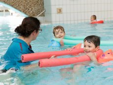 Learn how to swim Park Bostalsee Sankt Wendel Center Parcs