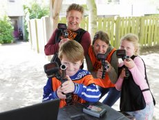 Family Laser Battle (outdoor) Erperheide Peer Center Parcs