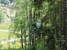 Duo Super Zip Wire Park Allgäu Leutkirch Center Parcs