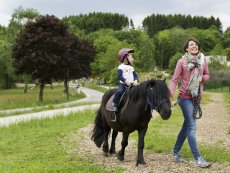 Horse riding Park Bostalsee Sankt Wendel Center Parcs