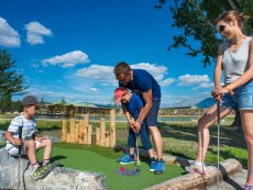 Minigolf (outdoor) Le Bois aux Daims Poitiers Center Parcs