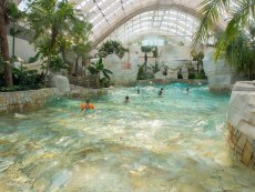 Wave pool Le Bois aux Daims Poitiers Center Parcs