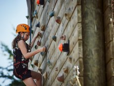 Wall climbing (Outdoor) De Huttenheugte Dalen Center Parcs