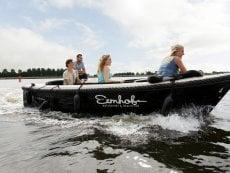 Navigation en canot De Eemhof Zeewolde Center Parcs