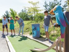 Minigolf (outdoor) Le Lac d'Ailette Laon Center Parcs
