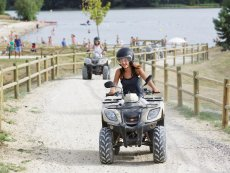 Quad ride Le Lac d'Ailette Laon Center Parcs
