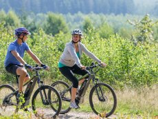 Mountain biking Le Bois aux Daims Poitiers Center Parcs