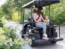 Electric cart Park Bostalsee Sankt Wendel Center Parcs
