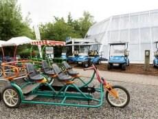 Fun Bikes Le Lac d'Ailette Laon Center Parcs