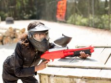Family Paintball (outdoor) De Vossemeren Lommel Center Parcs