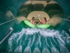 Aqua Slide Le Bois aux Daims Poitiers Center Parcs