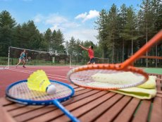 Badminton (indoor & outdoor) Le Bois aux Daims Poitiers Center Parcs