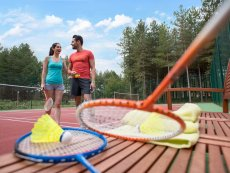 Badminton (indoor & outdoor) Le Lac d'Ailette Laon Center Parcs