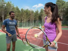 Tennis (outdoor) Park Bostalsee Sankt Wendel Center Parcs