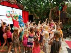 Orry & Friends: Kids' Disco Het Heijderbos Heijen Center Parcs