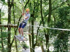 High Adventure Experience (outdoor) Le Bois aux Daims Poitiers Center Parcs