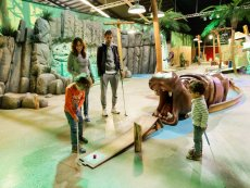 Interactive Indoor Minigolf Het Heijderbos Heijen Center Parcs