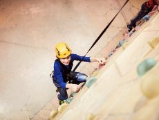 Wall climbing (indoor) Les Ardennes Vielsalm Center Parcs