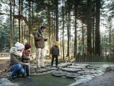 Minigolf (outdoor) Les Trois Forêts Metz Center Parcs
