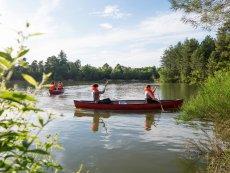 Canoe Les Hauts de Bruyères Chaumont Center Parcs