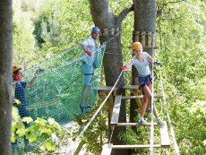 High Adventure Trail (outdoor) Le Lac d'Ailette Laon Center Parcs