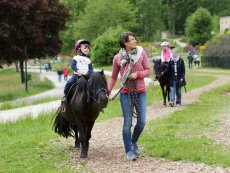 Pony rides Park Bostalsee Sankt Wendel Center Parcs