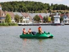 Pédalo Le Lac d'Ailette Laon Center Parcs
