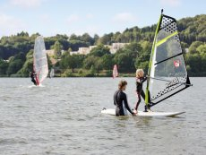 Wind surfing Park Bostalsee Sankt Wendel Center Parcs