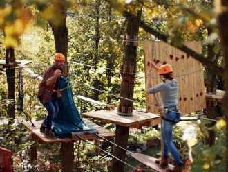 High Adventure Experience (outdoors) Erperheide Peer Center Parcs