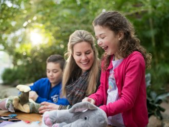 Kids Workshop: Maak je eigen knuffel Erperheide Peer Center Parcs
