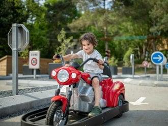 Kids Verkeerspark Het Meerdal America Center Parcs