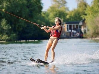 Water-skiing De Vossemeren Lommel Center Parcs