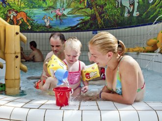 Children's pool Park Eifel Vulkaneifel Center Parcs