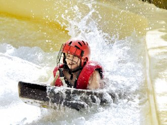 Cool Factor: Wild Water Rafting De Kempervennen Westerhoven Center Parcs