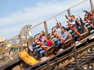 Amusement park Toverland Het Meerdal America Center Parcs