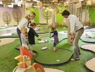 Minigolf (indoor) Park Bostalsee Sankt Wendel Center Parcs