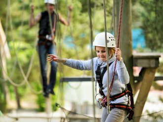High Adventure Experience (draußen) Park Bostalsee Sankt Wendel Center Parcs