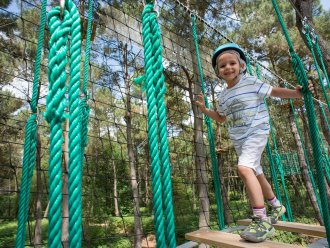 High Adventure Trail Kids Villages Nature® Paris Marne La Vallée Center Parcs