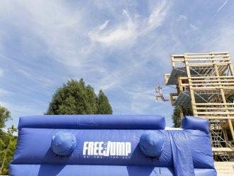 Cool Factor: Free Fall Port Zélande Ouddorp Center Parcs