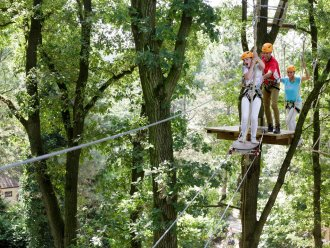 High Adventure Experience (outdoor) Bispinger Heide Soltau Center Parcs