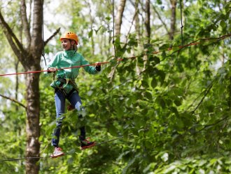High Adventure Experience (outdoors) Les Ardennes Vielsalm Center Parcs