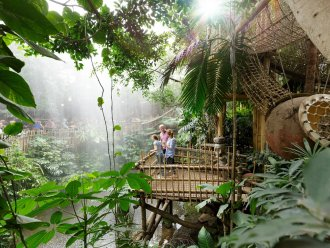 Jungle Dome en Jungle Expedition Het Heijderbos Heijen Center Parcs