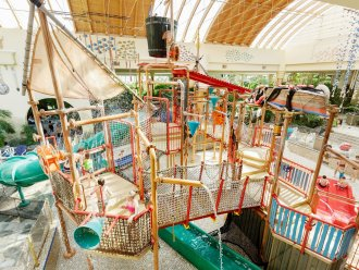 Wasserspielwelt Water Playhouse Park Hochsauerland Winterberg Center Parcs