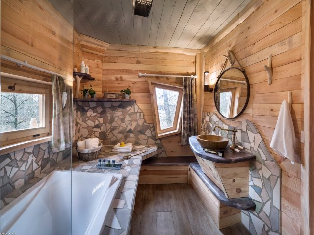 Cottage domaine le bois aux daims - Maison dans les bois ...
