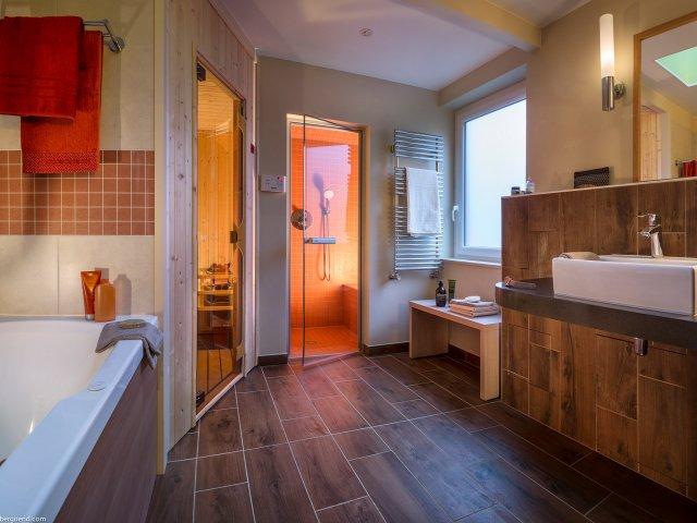 Cottage domaine le bois aux daims - Salle de bain cottage ...