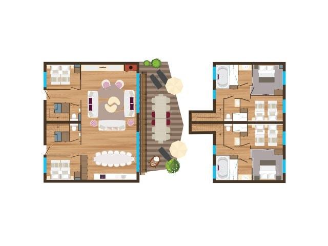 ferienh user von villages nature paris unterk nfte bei. Black Bedroom Furniture Sets. Home Design Ideas
